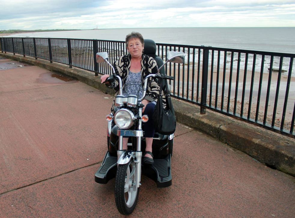 Making waves: Hazel Evitts featured in 'The Trouble with Mobility Scooters'