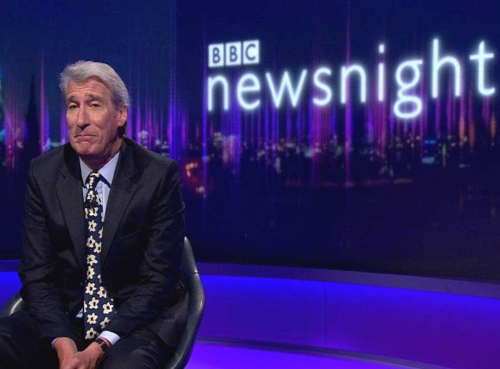 Jeremy Paxman signs off for the final time