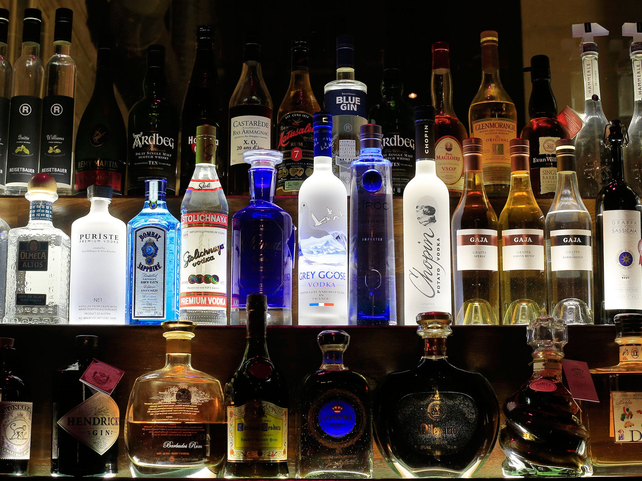 Should Calorie Information Be Shown On Alcoholic Drinks The Independent The Independent