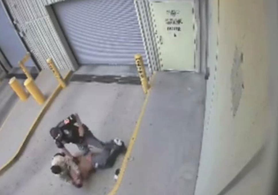 Police officer fatally shoots handcuffed prisoner who had