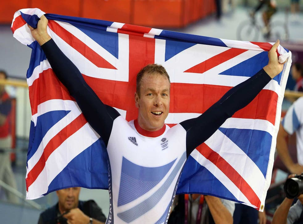 Sir Chris Hoy won six Olympic golds - in which four events?