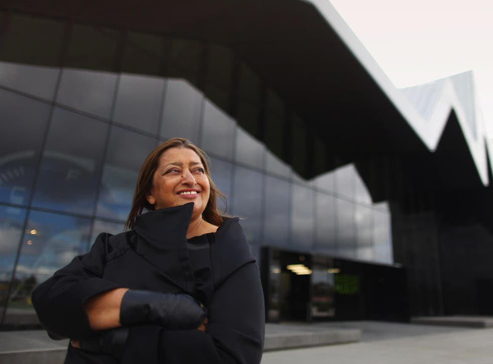 Dame Zaha Hadid became the first woman to win the RIBA Gold Medal earlier this year
