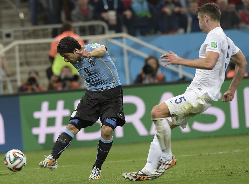 Suarez lashes home Uruguay's winner with just five minutes remaining