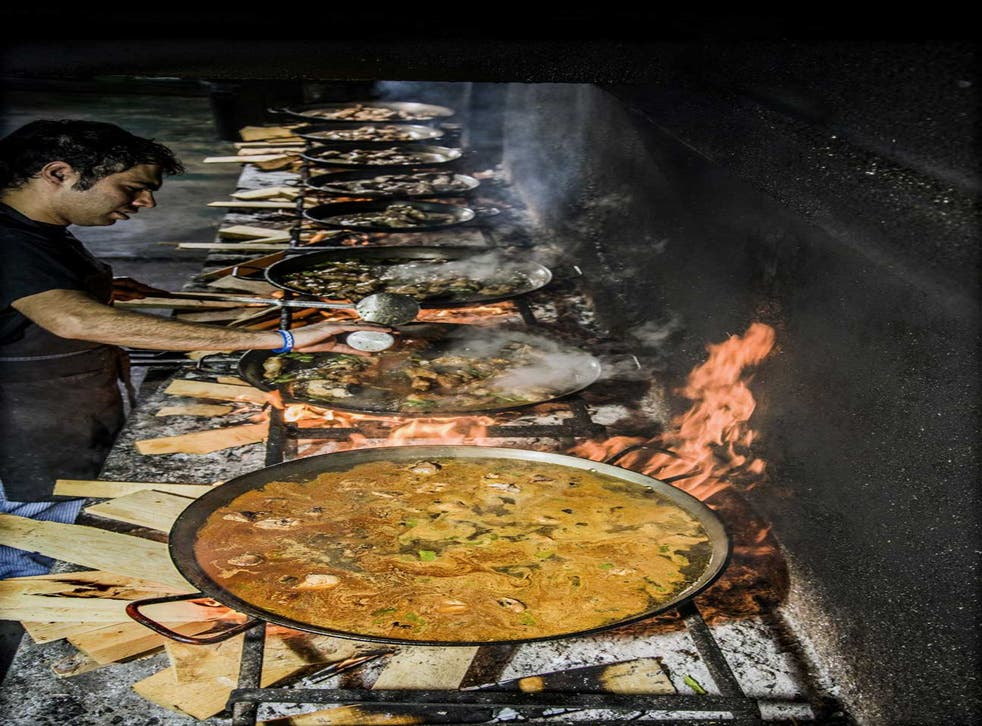 The one rule about paella club is that there are a LOT of rules about paella