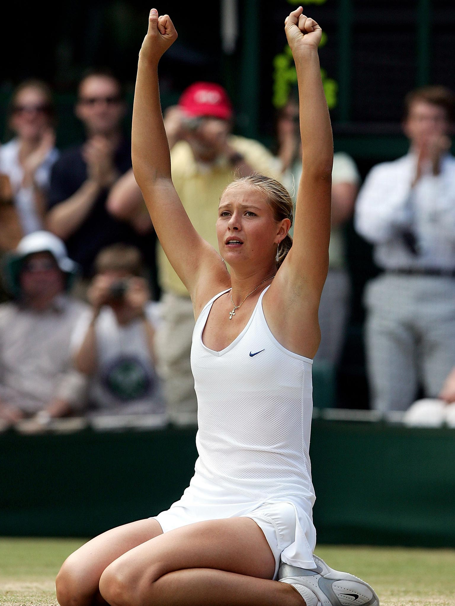 Ten Years On How Maria Conquered Wimbledon The Independent