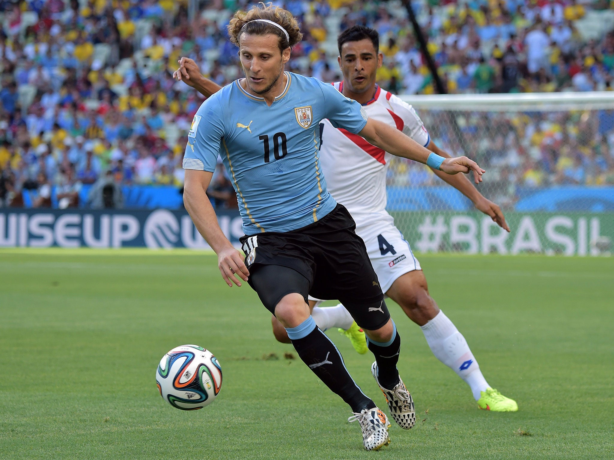 England World Cup 2014 Diego Forlan says Three Lions were afraid