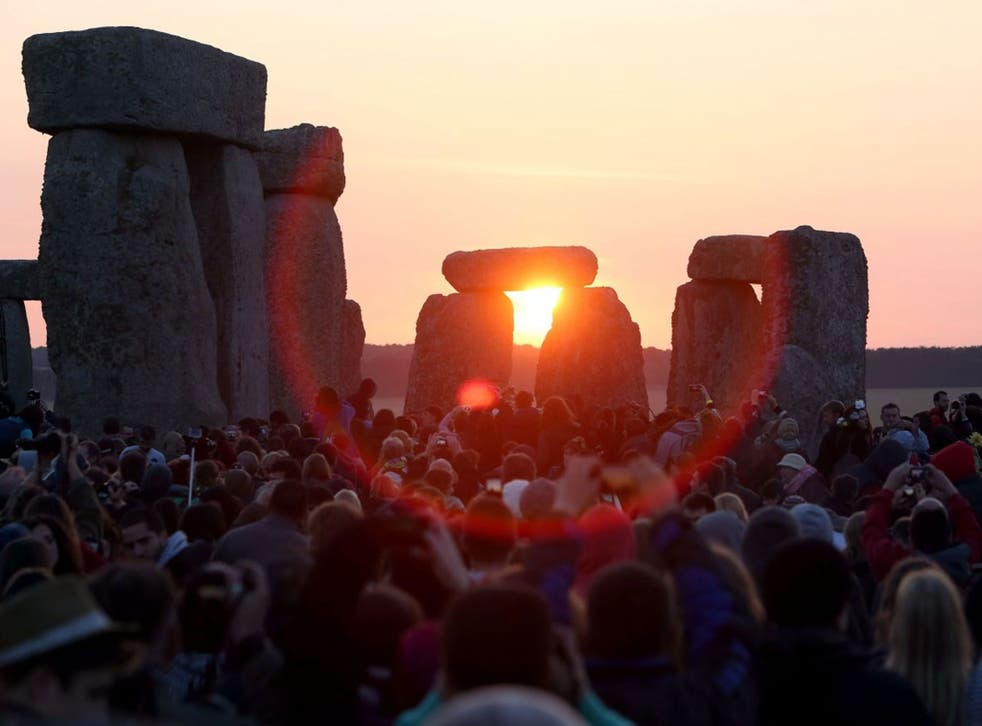 The summer solstice is celebrated every year in June 21 in the northern hemisphere