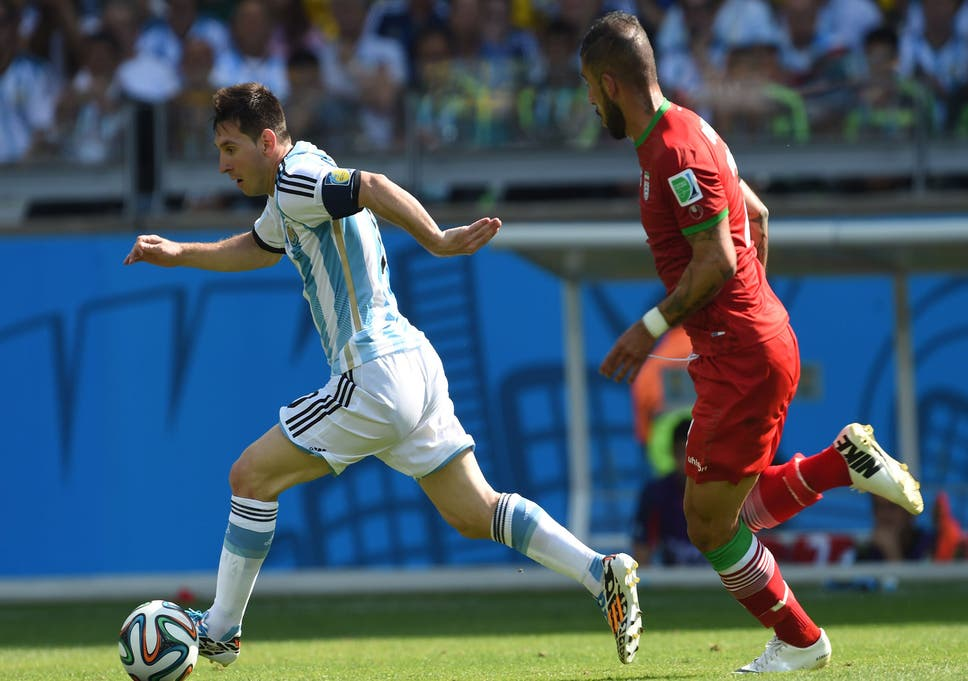 2f7c017f0 Argentina vs Iran match report World Cup 2014: Lionel Messi conjures up  extra magic to save Argentina's blushes