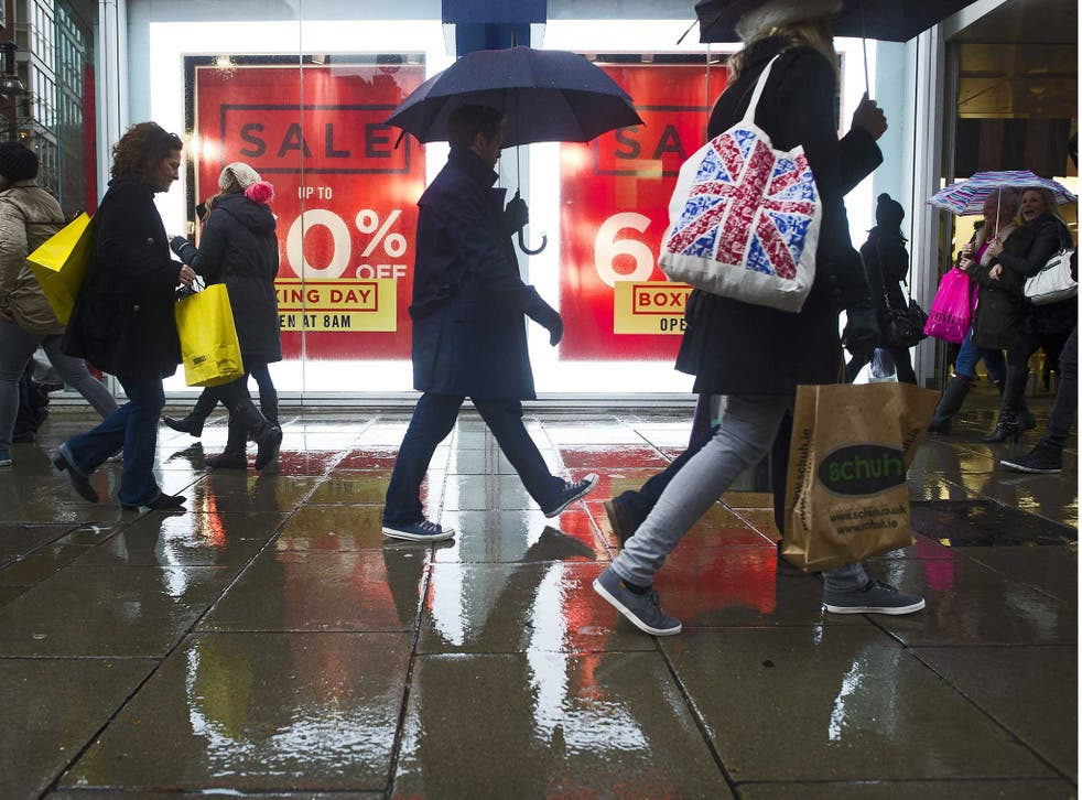 Retail sales are considerable up from last year