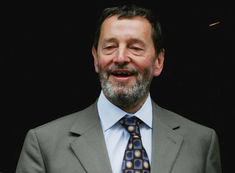 A life lived in politics: David Blunkett in 2005