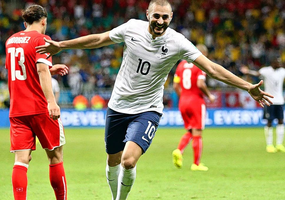 688cb8055ed United front  Karim Benzema is enjoying playing with Olivier Giroud under  France coach Didier Deschamps