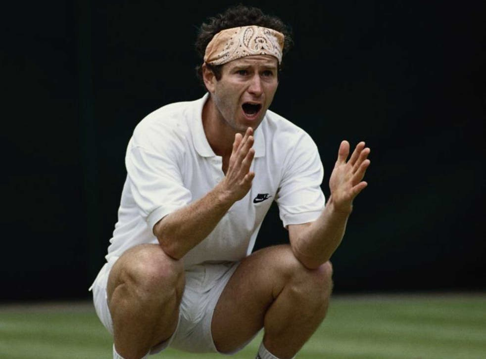 John McEnroe has always courted controversy