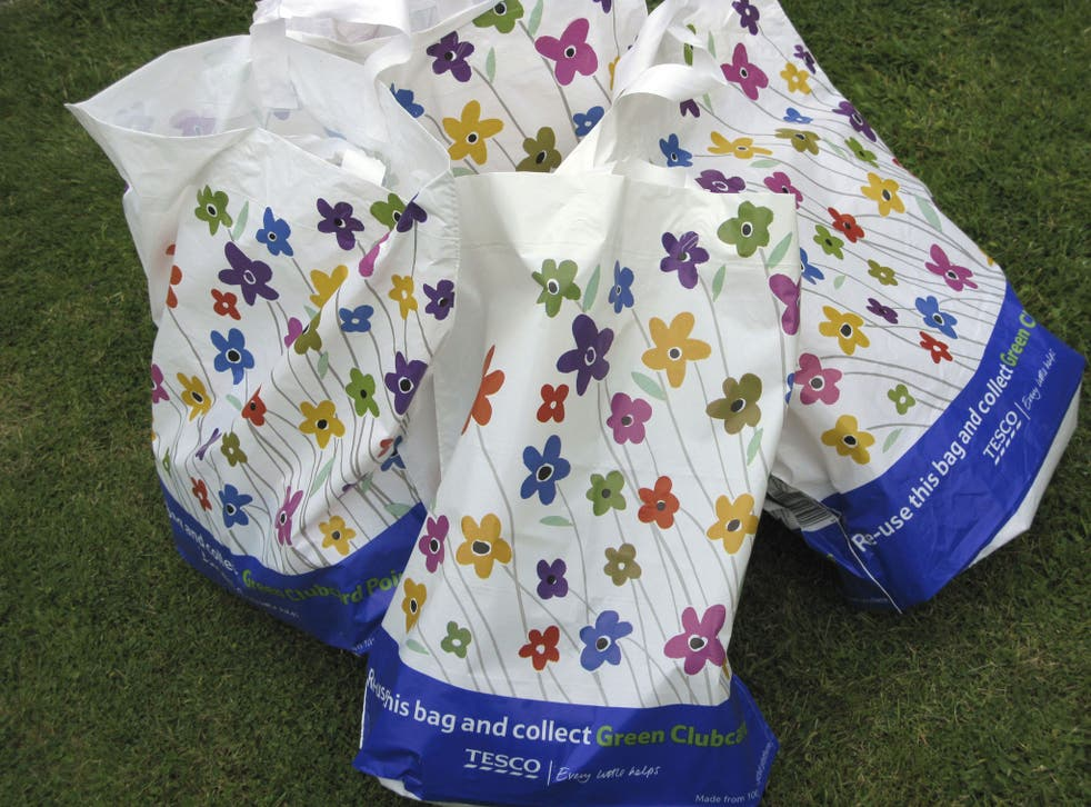 Current ''Bag for Life'' shopping bags are reusable and environmentally-friendly but don't yet have anti-bacterial properties