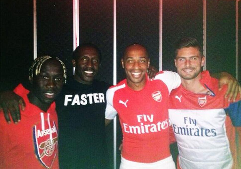 half off c7ce8 ea0b9 Arsenal kit 2014/15: How Linford Christie was the fastest ...