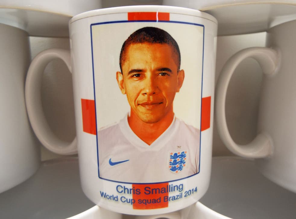 Barack Obama mistaken for England defender Chris Smalling