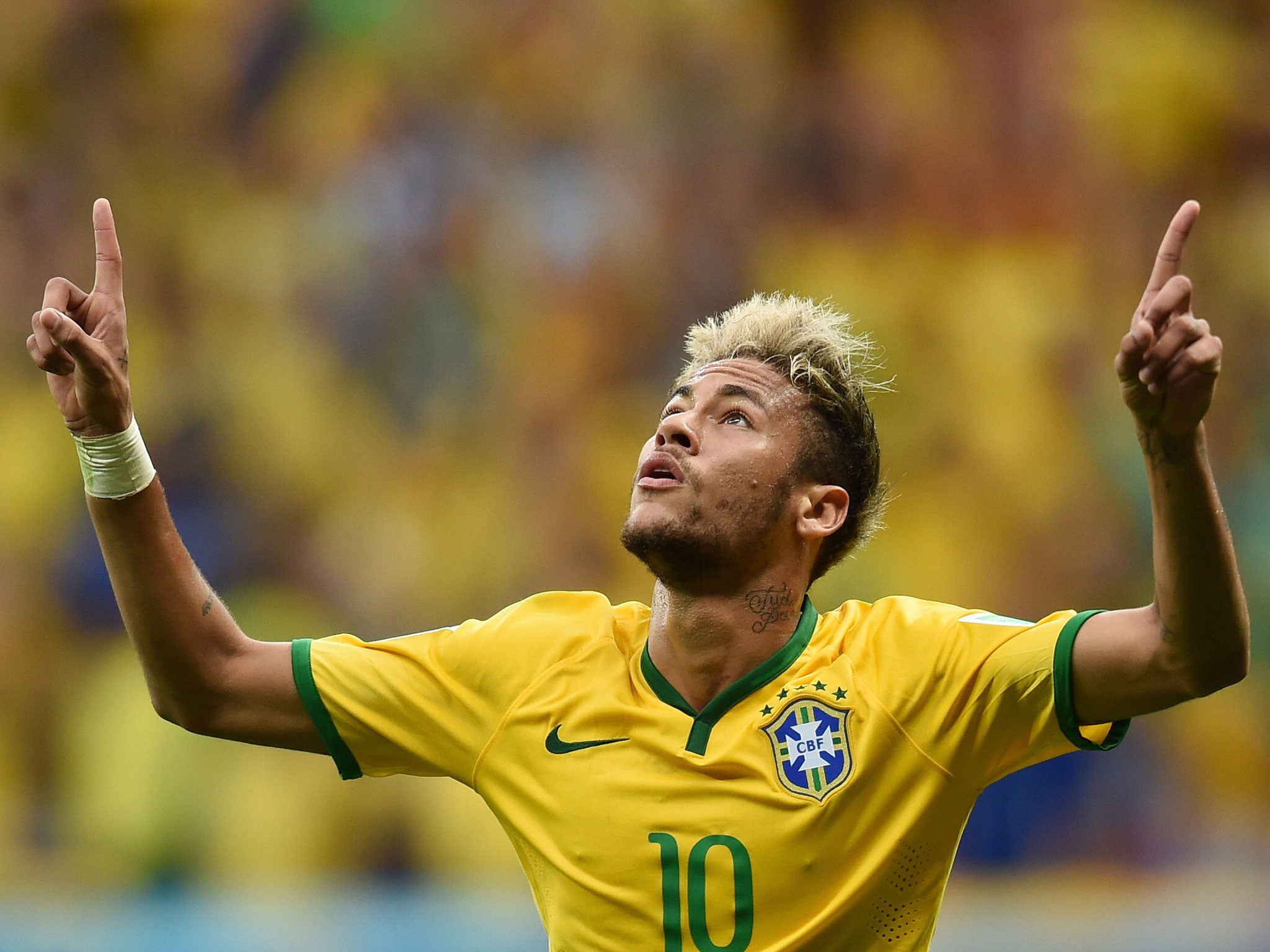 Neymar Out Of World Cup 2014 The Best And Worst Pictures Of Neymar S Impact On The 2014 World