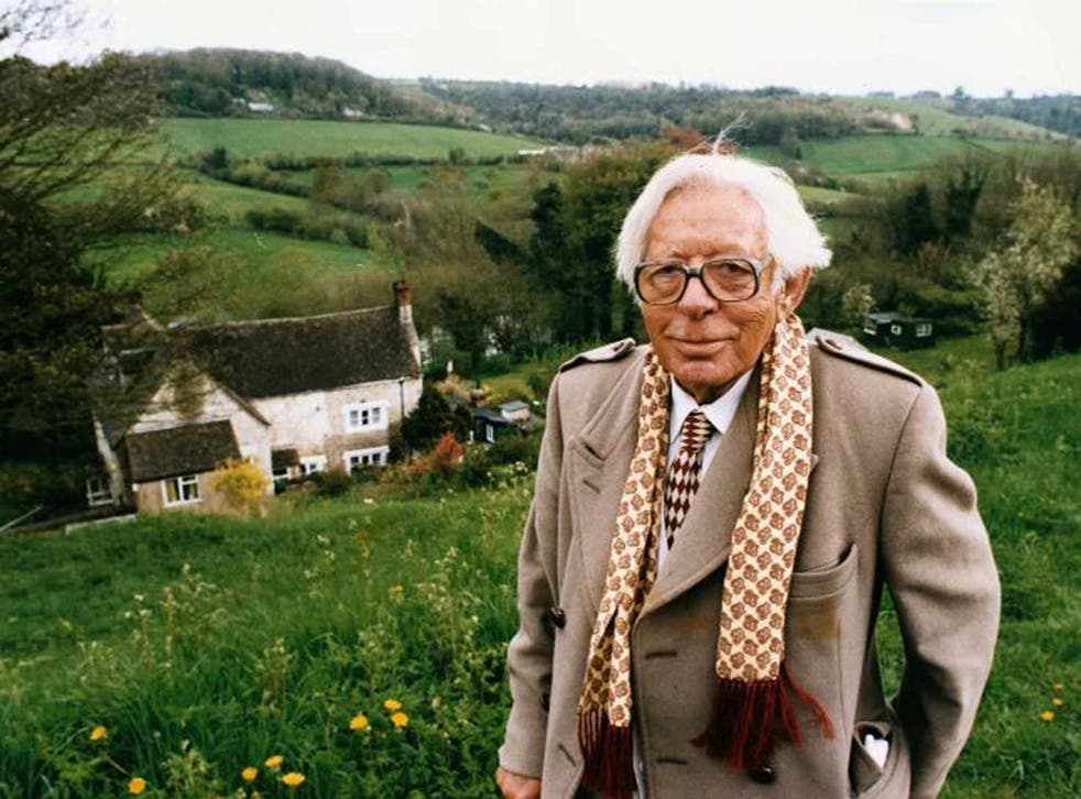 The outlook's Rosie: Laurie Lee in Slad, a landscape 'farmed and fenced by literature'