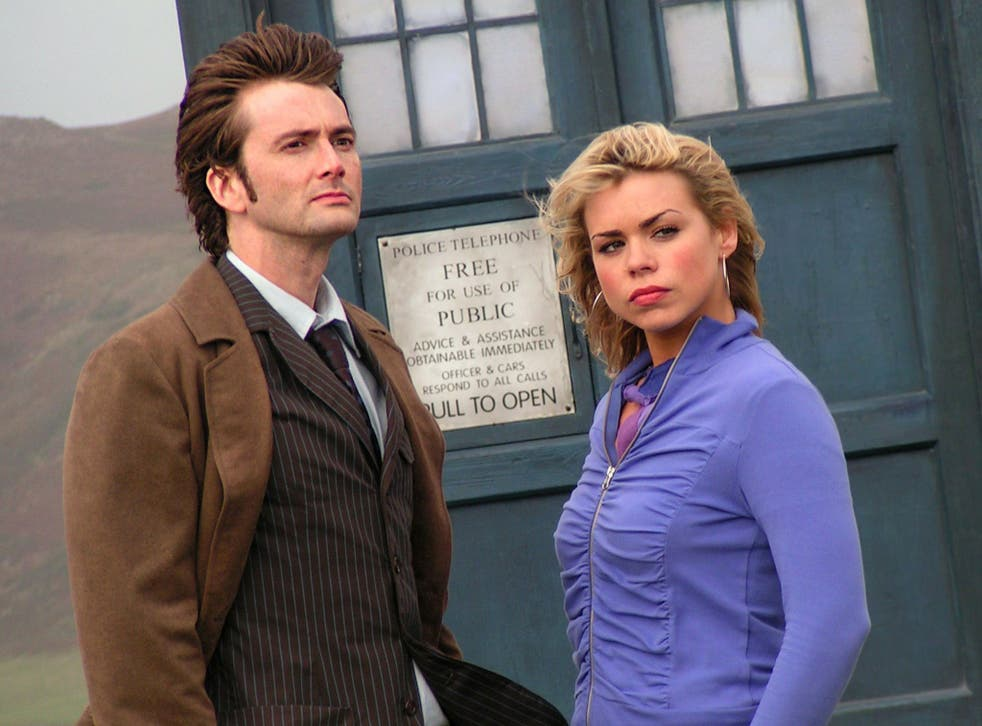 David Tennant and Billie Piper star in Doctor Who in 2005