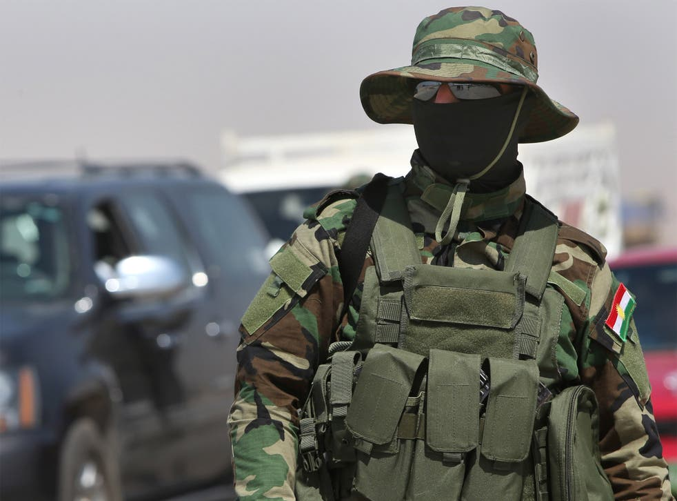 Kurdish fighters believe they are 'facing a new reality and a new Iraq'