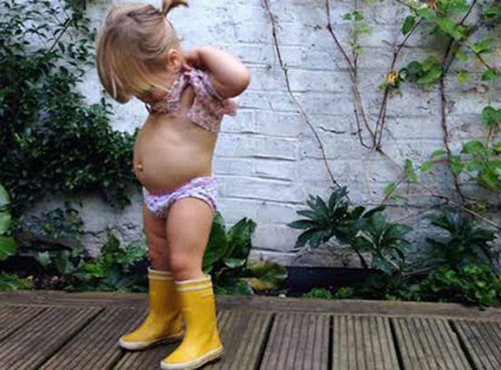 """A London-based blogger was devastated after Instagram deleted her account because she had shared a picture of her toddler which the site deemed """"inappropriate""""."""