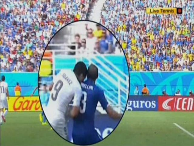 Suarez could face a two-year ban for the incident