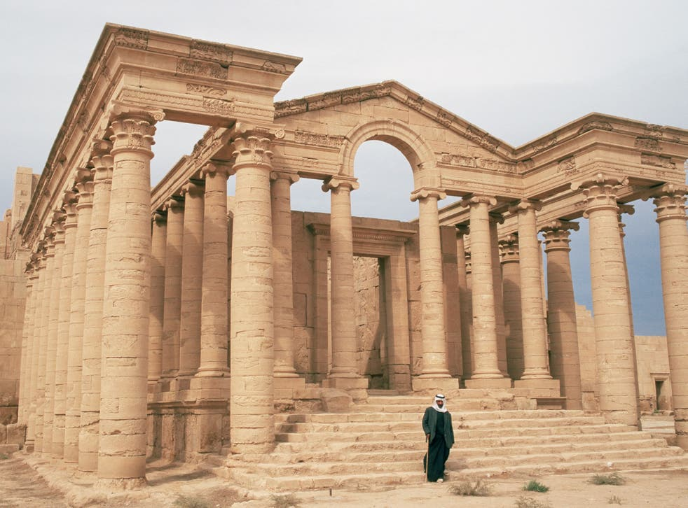 Temple of Mrn, Hatra, UNESCO World Heritage Site
