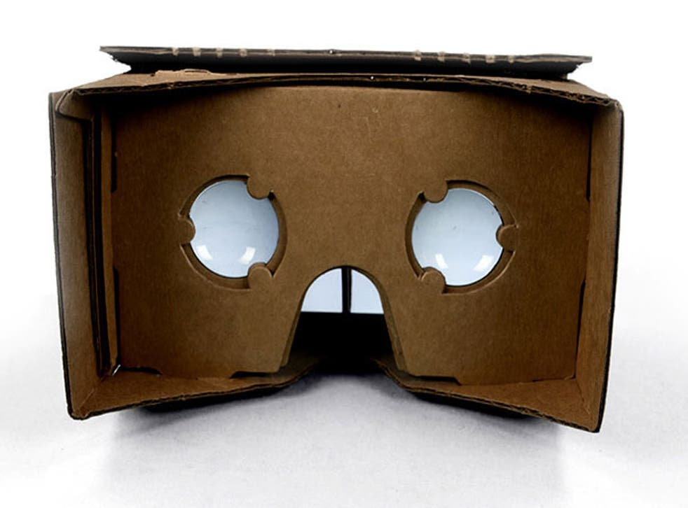 Google Cardboard allows users to experience virtual reality, cheaply