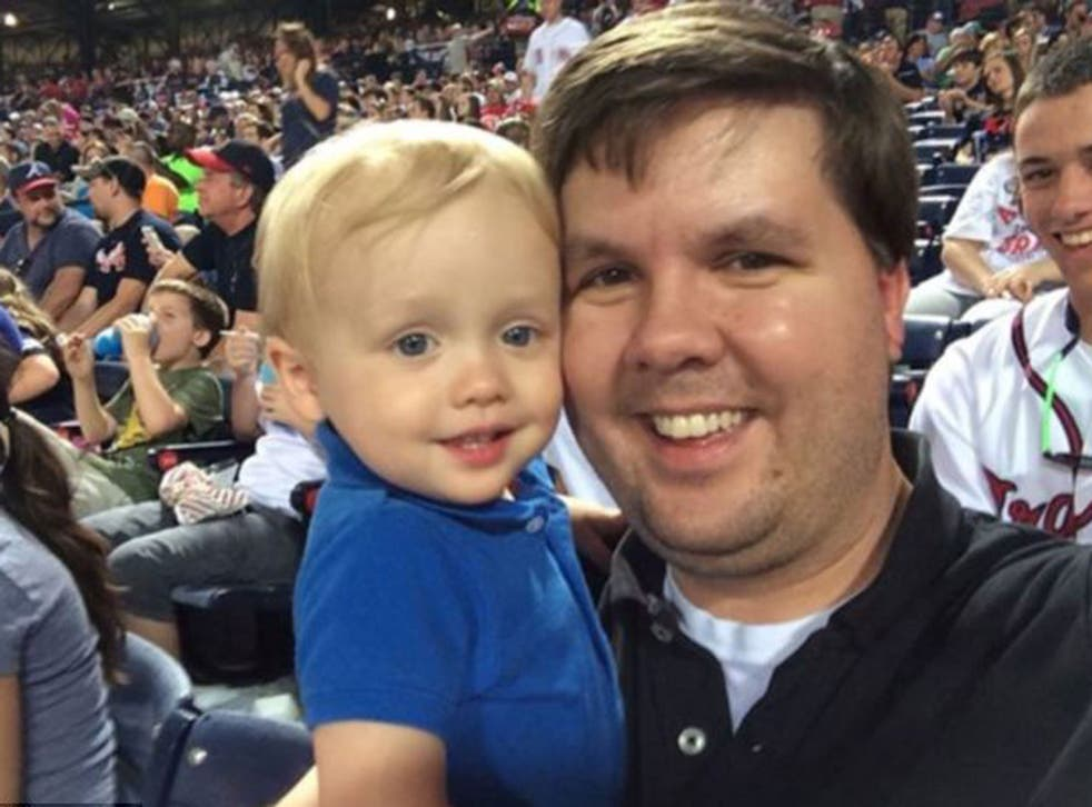 Justin Ross Harris and his son Cooper
