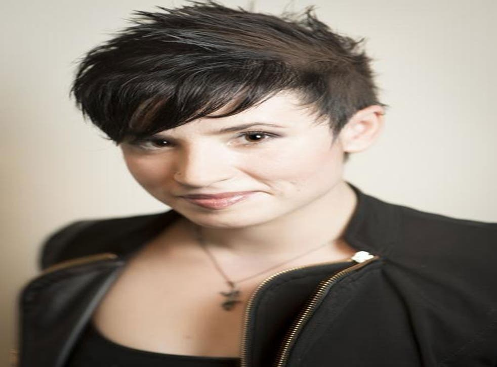 Feminist author Laurie Penny