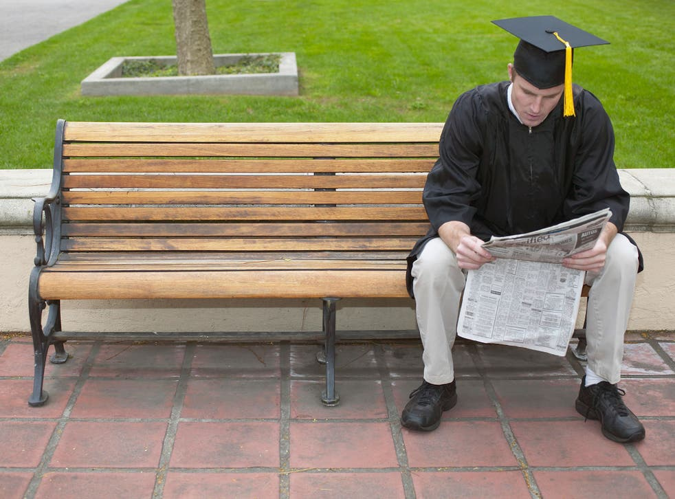 Around 18,500 UK and EU full-time university leavers, (one in 12) were assumed to be unemployed after completing their first degree in the 2012/13 academic year