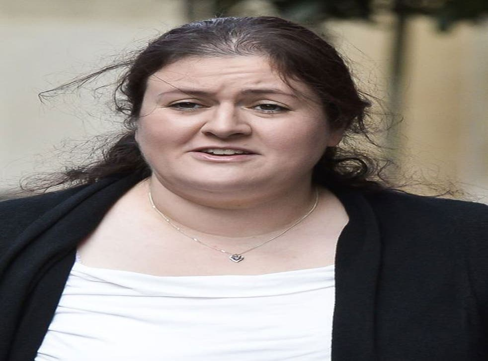 Rhiannon Brooker, who has been jailed for three and a half years after she falsely accused her boyfriend of rape so she would have an excuse for failing her legal exams.