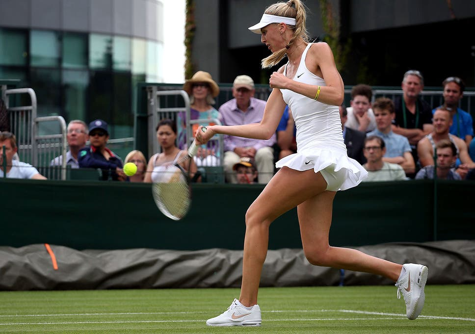 73b77917dbea6 Wimbledon women forced to play without bras following all-white ...