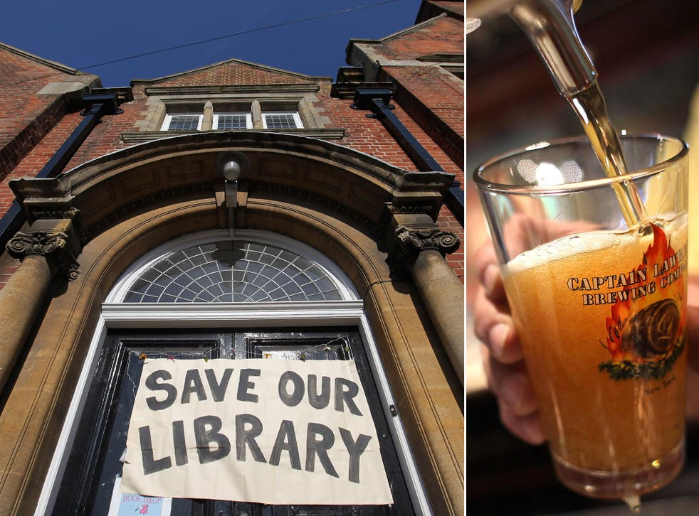 In 2010, the villagers of Hudswell bought The George and Dragon pub to save it from going bust and installed a library and a shop