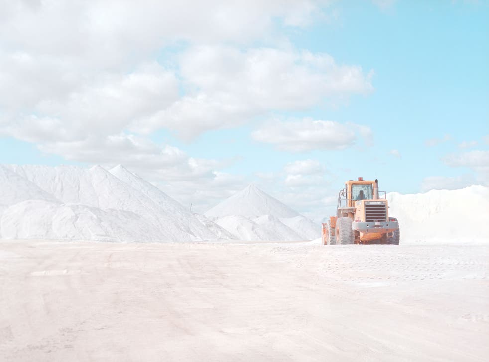 The series is the work of 24-year-old Australian Emma Phillips, who has compiled the images in a book called Salt