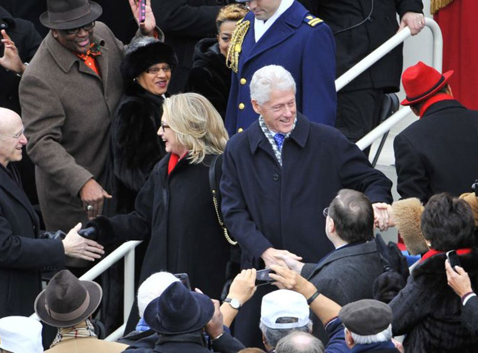 Hillary and Bill Clinton have global appeal and both cash in on that