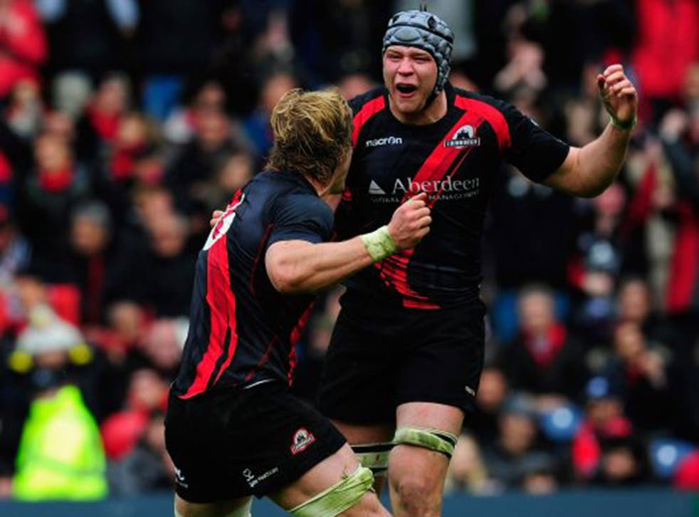 Grant Gilchrist, the Edinburgh lock forward,  will be leading Scotland for the second time