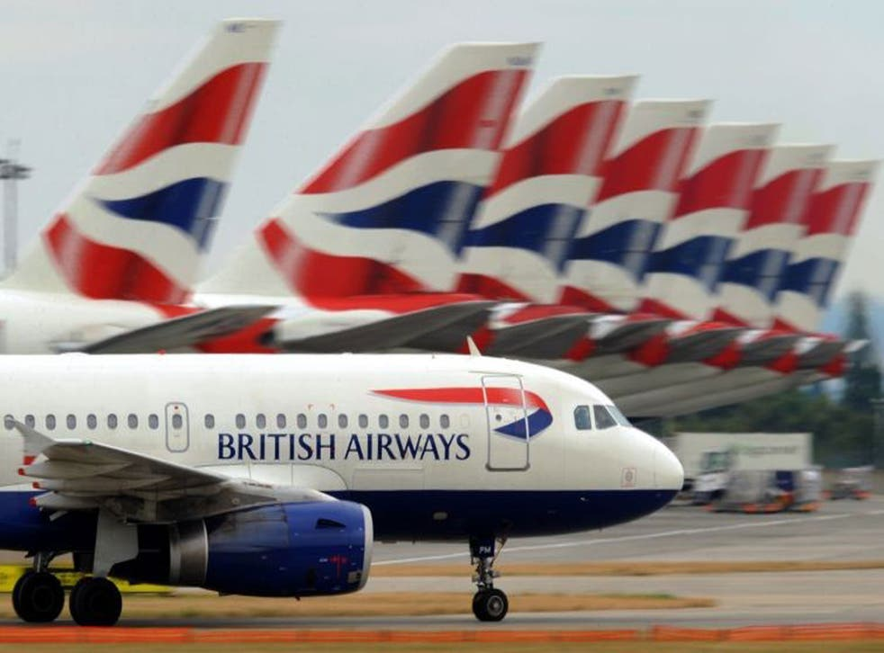 BA travel rewards are taxiing down the runway