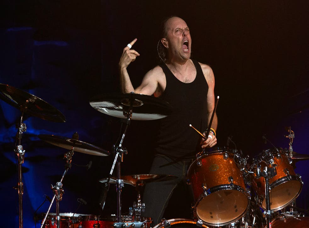 Lars Ulrich, drummer with Metallica, says staying sober at festivals is a 'downside'