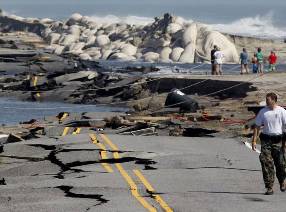 Road to nowhere: North Carolina's Highway 12 after Hurricane Irene struck in 2011