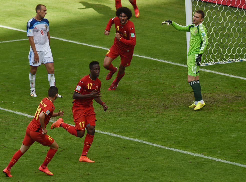 Despite his inexperience at club and international level, Divock Origi is winning admirers for his performances in Brazil