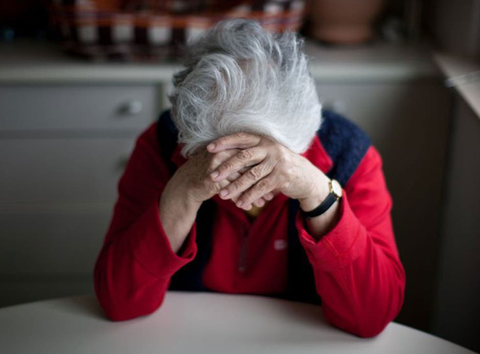 Lonely Britain: Tens of thousands of elderly men and women are left home and alone | The Independent | The Independent