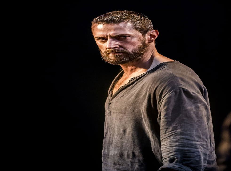 Richard Armitage as John Proctor in Arthur Miller's The Crucible at the Old Vic