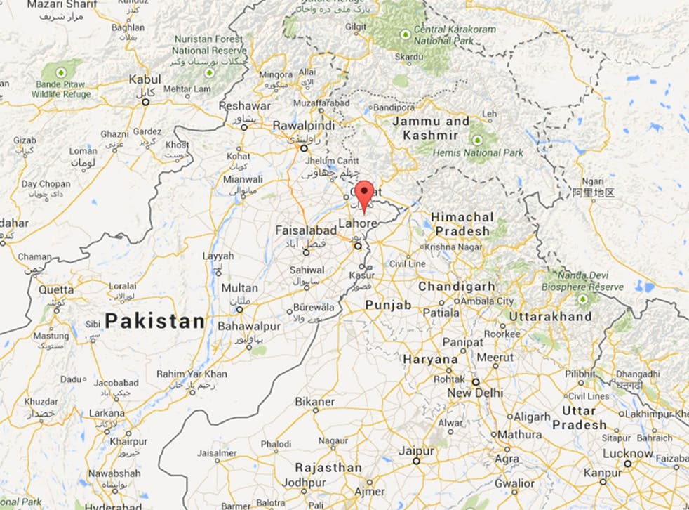 The killing took place in the eastern Punjabi village of Satrah
