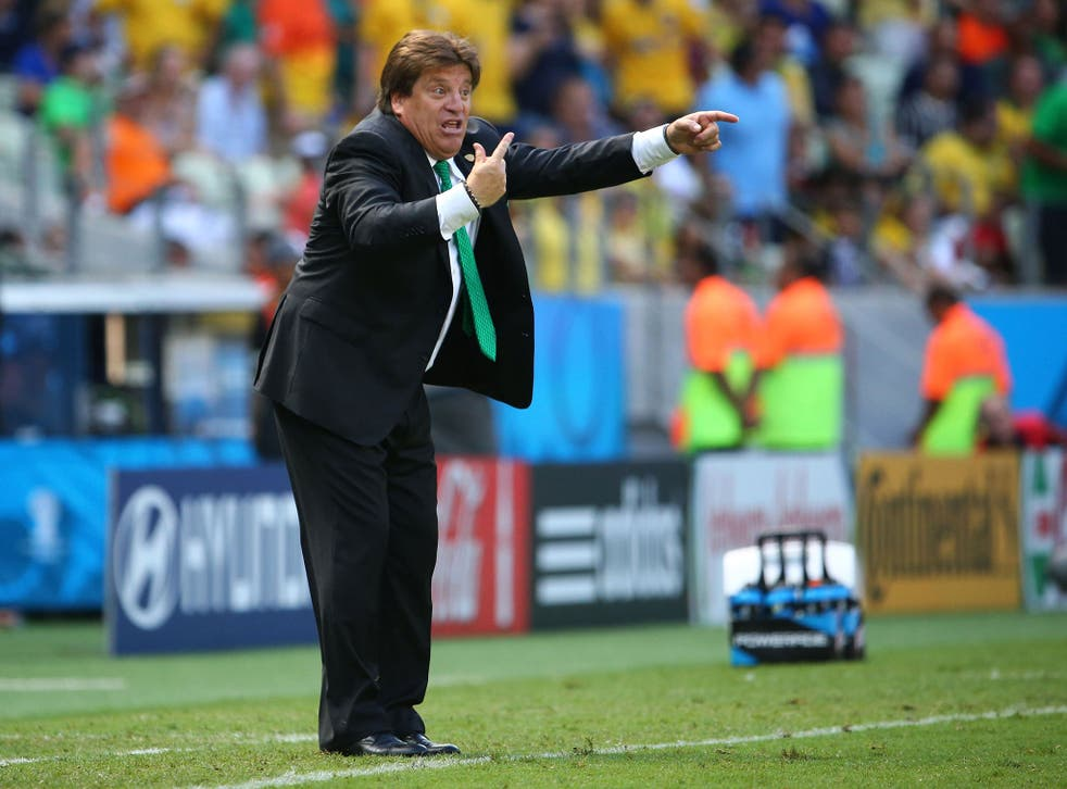Miguel Herrera was furious with Arjen Robben and Fifa
