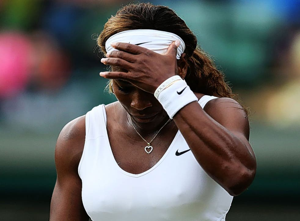 Serena Williams fails to find the answers as she crashes out of Wimbledon on Saturday