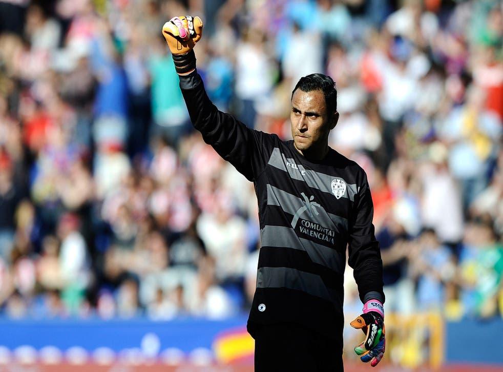 Keylor Navas was instrumental for Levante last season