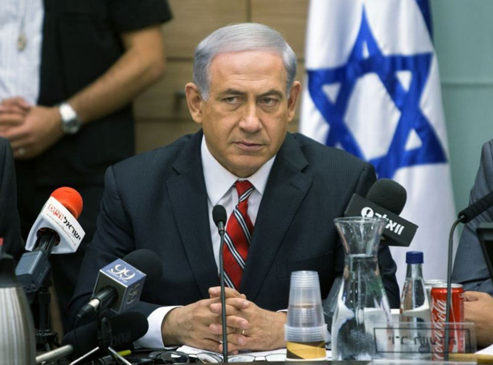 Benjamin Netanyahu said the teenagers were 'were kidnapped and murdered in cold blood by human animals'