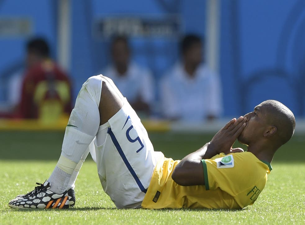 Fernandinho says Brazil must be wary of the threat posed by Colombia's James Rodriguez