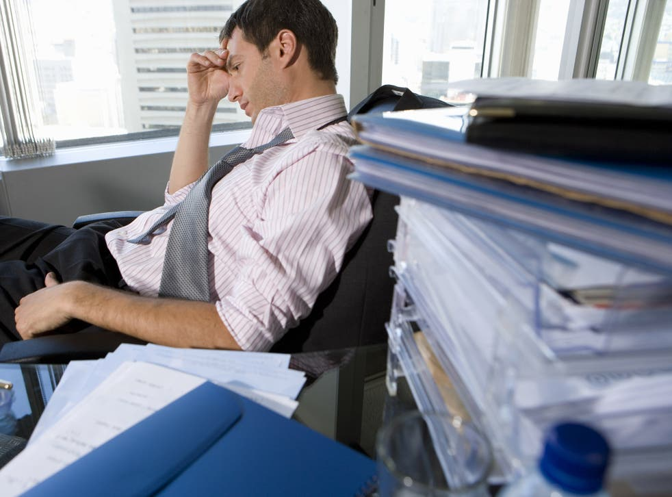Professor Ashton said that in some circumstances doing too many hours can cause excess anxiety
