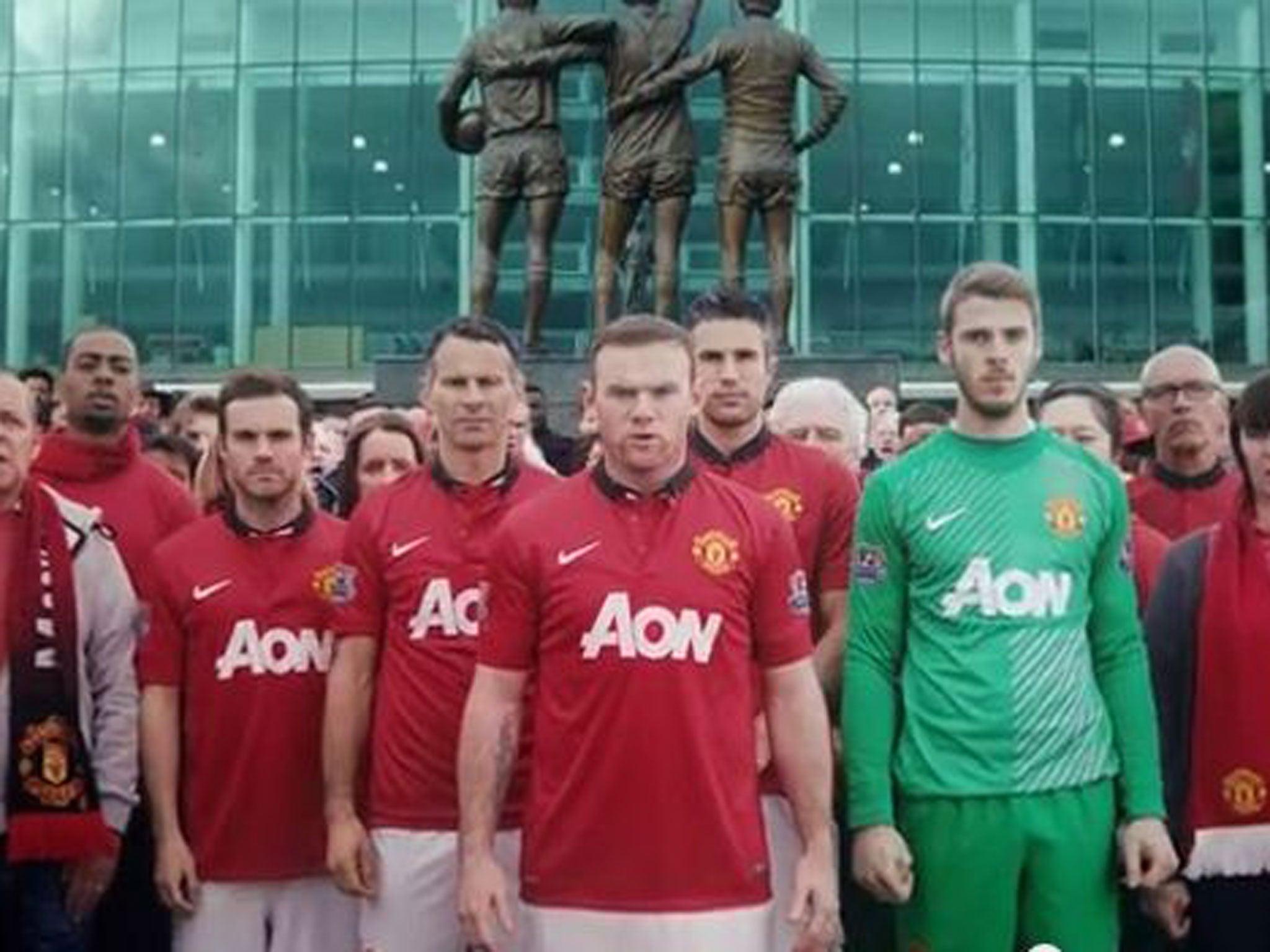 Manchester United new kit New sponsor Chevrolet release teaser